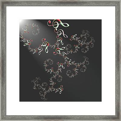 Music Framed Print by Alexandra Mallory