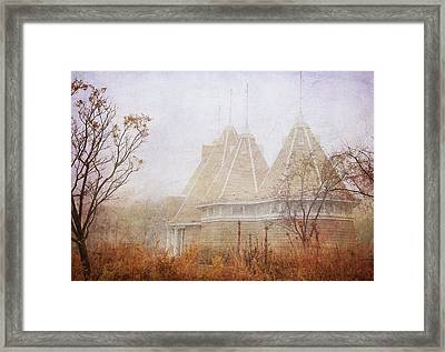 Music And Fog Framed Print by Heidi Hermes