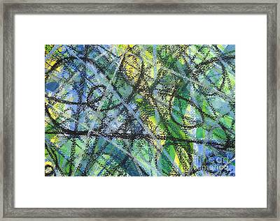 Music And Rhythm Framed Print