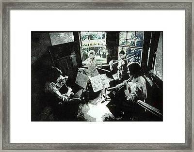 Music As Light Framed Print by Randy Sprout