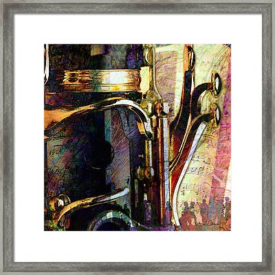 Music Framed Print by Barbara Berney