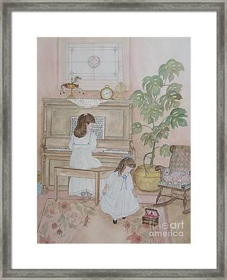 Music Box Dancer Framed Print