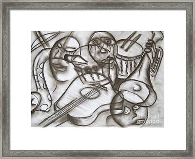 Music Dreams And Illusions Framed Print