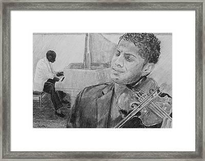 Music For The Soul Framed Print
