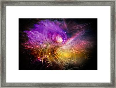 Music From Heaven Framed Print by Carolyn Marshall