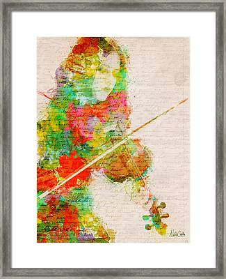 Music In My Soul Framed Print by Nikki Smith