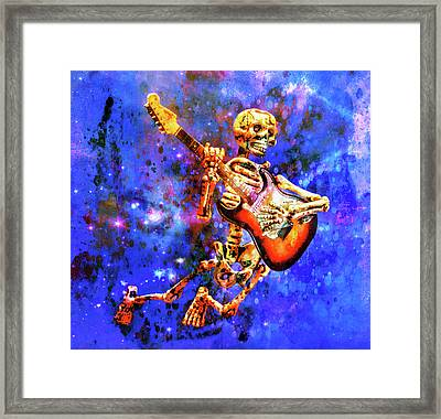 Music In The Air Framed Print by Jeff Gettis