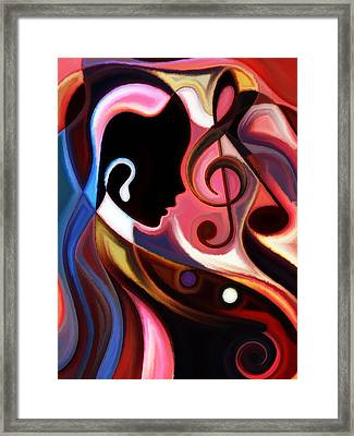 Music In The Air Framed Print