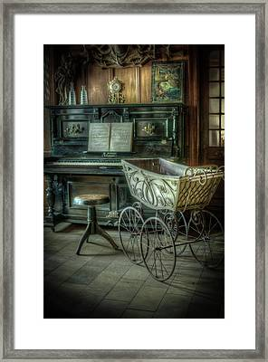 Music Is Childs Play Framed Print by Nathan Wright