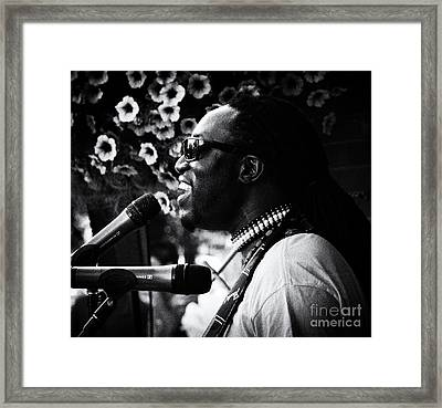 Music Is Life 2 Framed Print by Bob Christopher