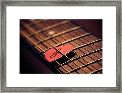 Music Key Framed Print