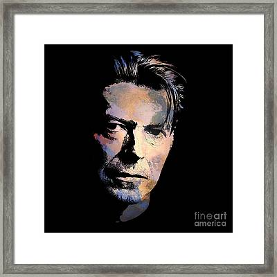 Music Legend. Framed Print