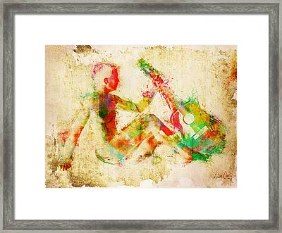 Music Man Framed Print by Nikki Marie Smith