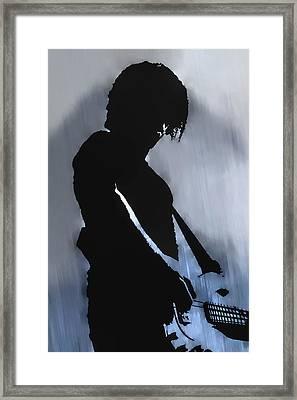 Music Man  Framed Print by Randy Steele