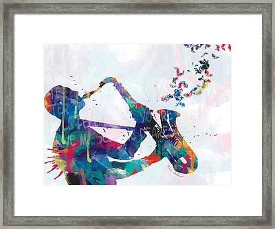 Music  Framed Print by Mark Ashkenazi