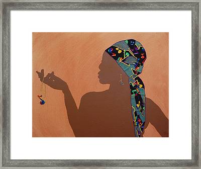 Music Me Framed Print by Kayon Cox