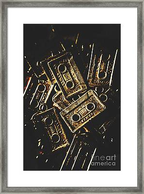 Music Nostalgia Framed Print by Jorgo Photography - Wall Art Gallery