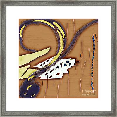 Music Note Framed Print