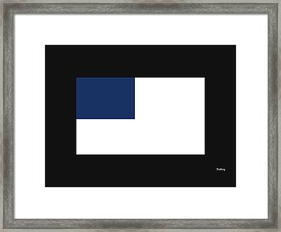 Framed Print featuring the digital art Music Notes 14 by David Bridburg