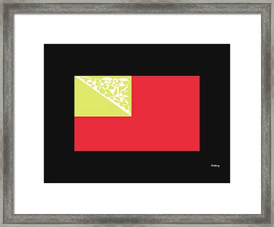 Framed Print featuring the digital art Music Notes 2 by David Bridburg