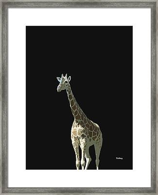 Framed Print featuring the digital art Music Notes 32 by David Bridburg