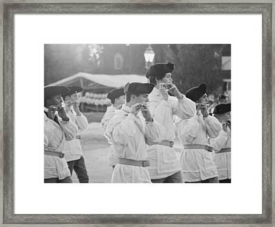 Music Of An Era Framed Print by Rachel Morrison