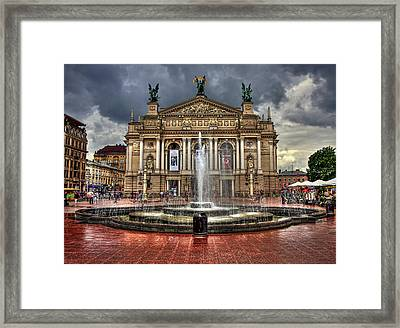 Music Of My Heart Framed Print