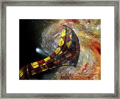 Music Of The Cosmos Framed Print by RC deWinter