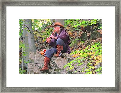 Music Of The Forest Framed Print