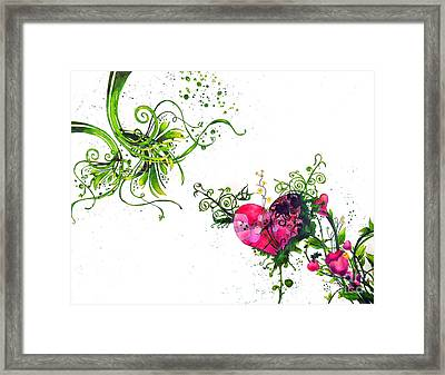 Music Of The Heart Framed Print