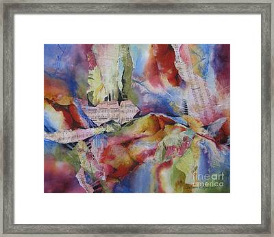 Music Of The Night Framed Print by Deborah Ronglien