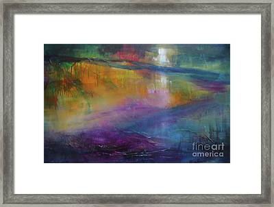 Music Of The Night Framed Print by Mary Sullivan