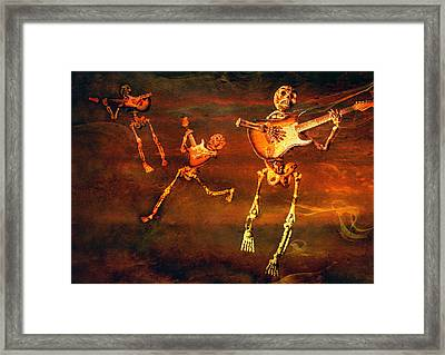 Music Of The Souls Framed Print by Jeff Gettis