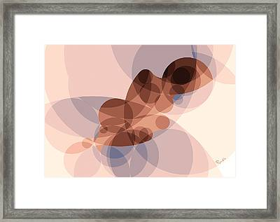 Music Of The Spheres #12 Framed Print by Peyablo