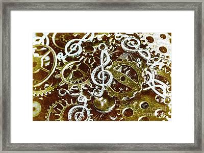 Music Production Framed Print