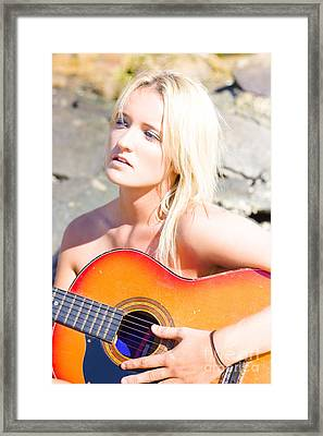 Music Framed Print by Jorgo Photography - Wall Art Gallery