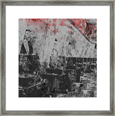 Music Shop Framed Print