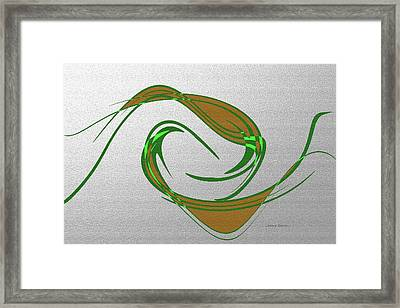 Music Takes Flight Framed Print