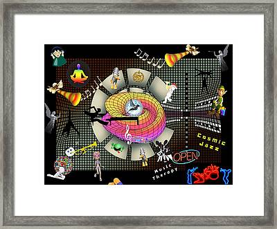 Music Therapy Framed Print