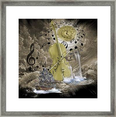 Music Time Framed Print