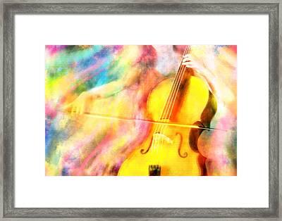 Music To My Eyes Framed Print by Jennifer Allison