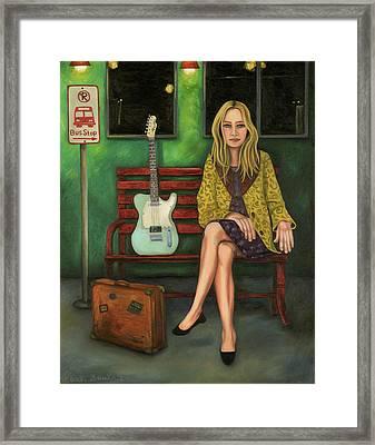 Music Traveler 2 Framed Print