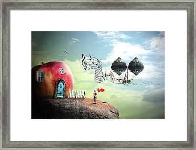 Music Traveler Framed Print