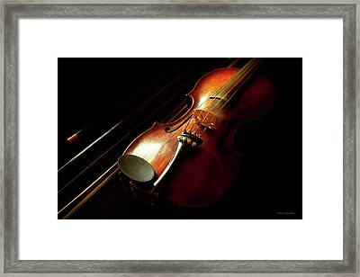 Music - Violin - The Classics Framed Print by Mike Savad