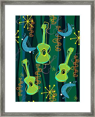 Music Was In The Air Framed Print by Little Bunny Sunshine