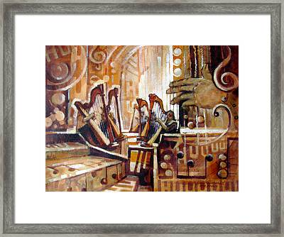 Music Within Framed Print by Richard McDiarmid