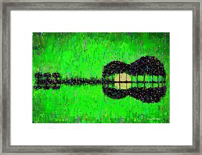 Music World - Da Framed Print