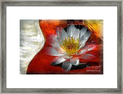 Musical Beauty Framed Print by Clare Bevan