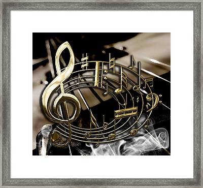 Musical Collection Framed Print