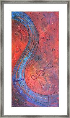 Framed Print featuring the painting Musical Craze by Phyllis Howard